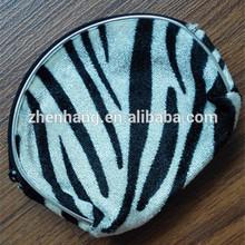 New design hot selling clutch Bag handbag zipper animal shaped leather coin purse