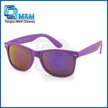 2014 ultimo occhiali da sole occhiali partito di plastica
