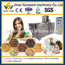 Small scale corn extruder machine, snack food machine/corn extruder machine