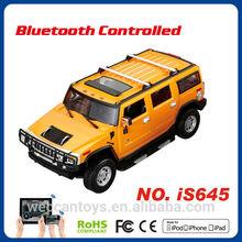 remote control car toy android control bluetooth car hummer 1 14 smart car