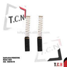 Ronda cepillo de carbono de la energía amoladoras/moledoras/esmeriles piezas de la herramienta