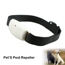 More Steady And Durable Electric Repeller Ultrasonic Dog Anti Ticks Collar Suitable For Small Animals