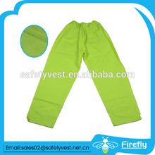 High visibility khaki harem trousers