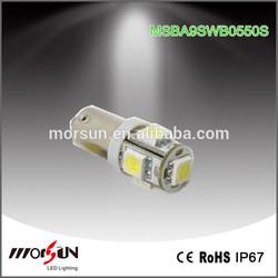 ba9s 5050 smd lamp LED auto light T10 75LM high brightness side marker light