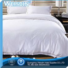 embroidered china wholesale plain bulk hemp 3 pcs bedding set for home use