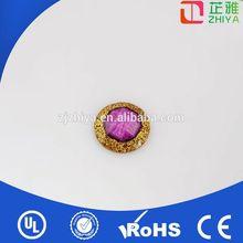 wholesale fashion bulk acrylic crystal cover button kits