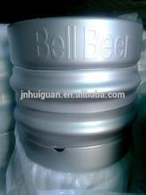 50L European standard stainless steel beer kegs with logo printing