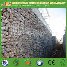 1mx1mx1m flood protective Heavy zinc coated welded gabion mesh factory