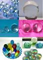 Boladecristal con la caja, 16mm, 25mm bolas de cristal