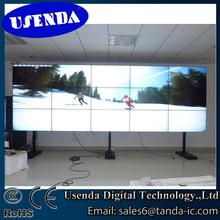 Full HD hdmi vga dvi sdi high definition input led backlight hd video wall