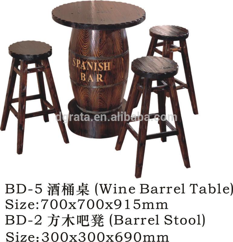 2014 hei�er verkauf bar tisch und st�hlen verwendet massivholz ...