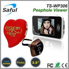 Saful TS-WP306 2.4GHz Digital Wireless Peephole Viewer video the eyes