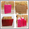 2014 Recycled paper t-shirt packaging bag
