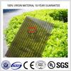 4mm bronze polycarbonate sheet/polycarbonate glazing sheet