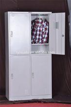 Metal four door locker cabinet/hms 1