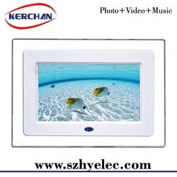 7inch digital photo frame \advertising screens 7 inch\auto copy digital frame