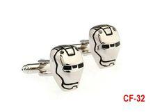 CF-32 Super cuff links. Men Cufflinks- Fashion Cufflinks, Iron Man cufflinks. Man's best gift