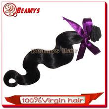 natural no tangle no shedding 100% unprocessed virgin brazilian hair meche