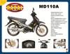 MD110A Automatic mini dirt bikes 49cc,high quality cub 49cc mini scooter,fashion 4 stroke pitbike for sale