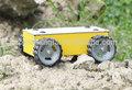 omni 4wd roda robô de controle remoto