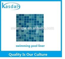 swimming pool mosaic design liner, swimming pool plastic liner, pool liner