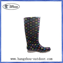 Jelly Rain Boots Shoes,Jelly Wellies Boots,Jelly PVC Boots For Ladies