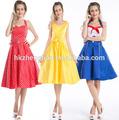 женская винтаёная стиль 50s рокабилли платье сторона из ретро лук pinup платье рокабилли вечер платье