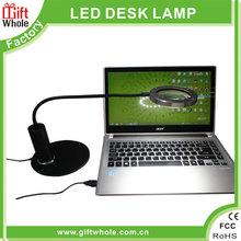 LED Magnifier table Lamp/ desk lamp Metal base 3W 18 LED super light table lamp