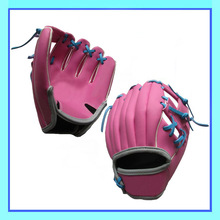 Bright Pink Baseball Gloves