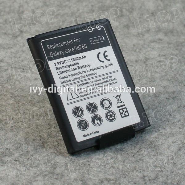 Core I8260 vs Core I8262 Core I8262 I8260 Battery