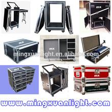 pro aluminum dj equipment 12u flight case for speakers