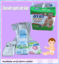 Hot Sale Soft Disposable cheap Baby Diaper in Bales