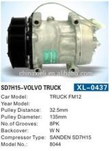 SANDEN SD7H15 24v Stuck FM12 volvo truck air compressor