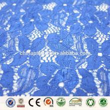royal blue wedding lace fabric for dress in dubai