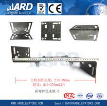 Main-track bracket,elevator guide rail bracket,car elevator parking systems