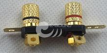 brass terminal connector speaker parts round copper terminal lugs