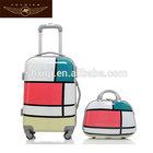 children cartoon travel trolley luggage bag