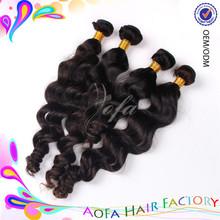 AAAAAA grade virgin unprocessed wholesale amazing brand hair