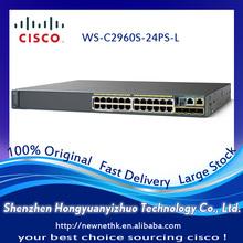 IT SOLUTION C i s c o Switch 100% Original 24 Port POE WS-C2960S-24PS-L