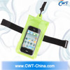10M environmental and multifunctional pvc waterproof bag for in 4.5inch cell phone