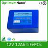 lithium ion battery 12V 12Ah lifepo4