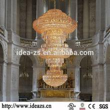 C99758 camino round chandelier,arabic style brass chandelier light,string crystal chandelier