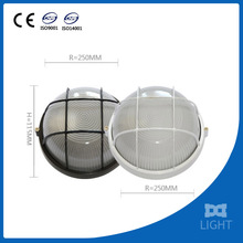 China Supplier Outdoor Round Stainless Steel Led Garden Lamp
