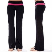 Multi-directional stretch nylon and spandex practice pant for yoga and sport