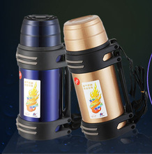 304 Stainless steel travel mug/12V and 24V electric water heater/Heating milk self heating thermos