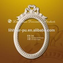 Baroque stype carved Polyurethane Mirror frame /Light weight mirror frames
