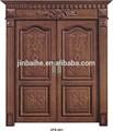de lujo de doble puerta de madera