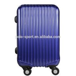 """EU/US Market PC zipper trolley case hard shell 4 wheels aluminum trolley cart TSA lock OEM/ODM 20"""" 24"""" 28"""" size"""