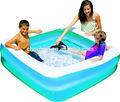 Inflável caixa de jogo de bilhar, quadrado inflável piscina infantil, quadrado inflável criança palmatória piscina