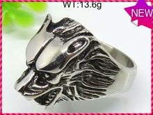 Modern personalized design jewelry stainless steel engagement 18k golden plated crystal ring for man